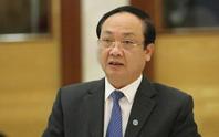 Thủ tướng Chính phủ kỷ luật cảnh cáo ông Nguyễn Thế Hùng