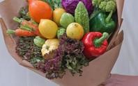 Những bó hoa bằng rau củ độc đáo ngày 20-10