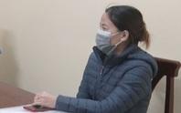 Người phụ nữ về từ TP HCM mắc Covid-19 khai báo gian dối bị khởi tố, bắt tạm giam