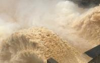 Nhiều thủy điện và hồ Phú Ninh ở Quảng Nam xả lũ, nước sông đang lên nhanh