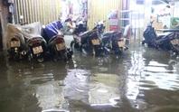 Khu trung tâm TP HCM lại ngập