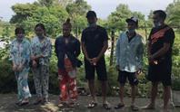 6 đối tượng khai lý do vượt biên trái phép sang Campuchia