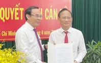 Ông Trần Văn Nam giữ chức Bí thư huyện ủy Bình Chánh