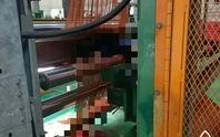 Thương tâm nam công nhân bị cuốn vào máy làm sợi lốp ôtô dẫn đến tử vong