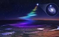 Thiên hà khác phát tín hiệu cầu vồng xuống Trái Đất 18 lần