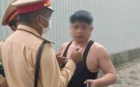 Người đàn ông say xỉn, xưng là quân nhân làm loạn tại chốt CSGT