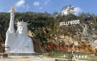 Yêu cầu dừng thi công tượng Nữ thần tự do gây tranh cãi ở Sa Pa