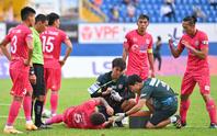 Sài Gòn FC thua trận thứ 5 liên tiếp, xếp chót V-League 2021