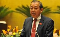 Trình Quốc hội miễn nhiệm một số Phó Thủ tướng, Bộ trưởng