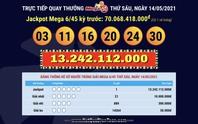 Ba vé Vietlott trúng gần 88 tỉ đồng trong 3 kỳ quay số liên tiếp