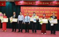 TP HCM trao Huy hiệu Đảng cho 14 đảng viên