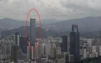 Tòa nhà chọc trời ở Trung Quốc rung lắc dù không có động đất