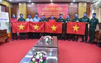 Cờ Tổ quốc biên cương đến với vùng biên giới Bình Phước
