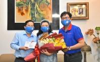 Mai Vàng nhân ái thăm NSND Kim Cương và NSND Minh Vương