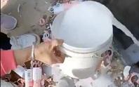 270.000 hộp sữa bị đổ cống, nhà sản xuất chương trình xin lỗi