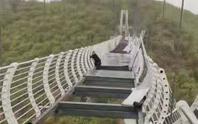 Mắc kẹt trên cầu kính Trung Quốc, du khách phải khám tâm lý