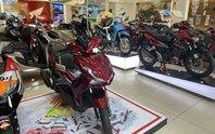 Nhiều mẫu xe máy hết chảnh