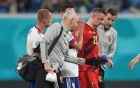 Vỡ xương hốc mắt, sao tuyển Bỉ chia tay Euro 2020