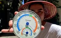 Choáng với nhiệt độ bề mặt ngoài trời lên tới 60 độ C ở Hà Nội