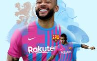 Tỏa sáng ở Euro 2020, Memphis Depay gia nhập Barcelona với giá 0 đồng