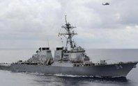 Mỹ điều tàu chiến qua eo biển Đài Loan