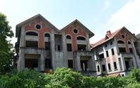 Cận cảnh dự án từng bị Thanh tra Chính phủ sờ gáy, hàng loạt biệt thự vẫn bỏ hoang