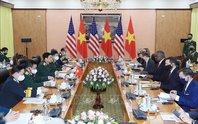 Hai bộ trưởng quốc phòng Việt Nam - Mỹ hội đàm