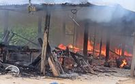 Cháy nhà, vợ chồng nữ giáo viên ở Quảng Nam tử vong