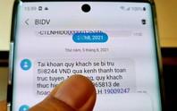 Ngân hàng nhiều lần kiến nghị, nhà mạng vẫn chưa giảm cước tin nhắn