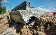 Đà Nẵng: Nghi vấn dùng đất lẫn rác thải để san nền công trình hơn 17 tỉ đồng
