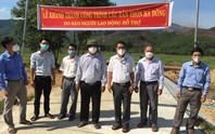 Bình Định khánh thành cầu Bản do chương trình Trái tim miền Trung của Báo Người Lao Động hỗ trợ