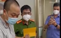 Bắt kẻ bán thẻ tình nguyện viên Trung tâm cấp cứu 115 TP HCM