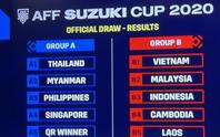 Bốc thăm AFF Cup: Đội tuyển Việt Nam cùng bảng Indonesia và Malaysia