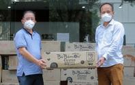 Kiều bào tại Trung Quốc ủng hộ hơn 124 triệu đồng cho chương trình Tình thương cho em