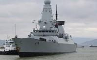 Tàu khu trục Anh thăm hữu nghị Đà Nẵng