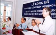 Trường ĐH Bán công Tôn Đức Thắng: Đào tạo 7 ngành theo hệ ĐH tại chức