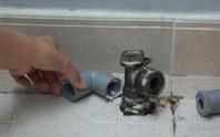 Hàng loạt đồng hồ nước bị mất cắp