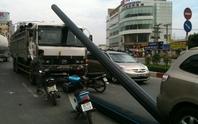 Tai nạn giao thông hy hữu tại TPHCM