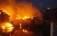 Báo cháy trễ, một nhà xưởng ra tro