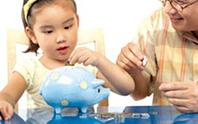 Lúng túng khi dạy con dùng tiền