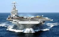 Tàu sân bay Mỹ ghé vùng biển tiếp giáp VN
