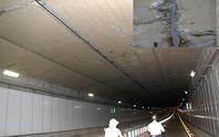 Đường hầm sông Sài Gòn thấm nước?
