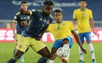 Ngược dòng nghẹt thở hạ Colombia, Brazil giành vé tứ kết Copa America