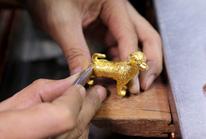 Thị trường vàng nhộn nhịp trước ngày Thần Tài