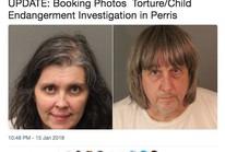 Mỹ: 13 người con bị xích và bỏ đói trong nhà, cha mẹ bị bắt