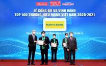 """Nam A Bank - """"Thương hiệu mạnh Việt Nam"""" 6 lần liên tiếp"""