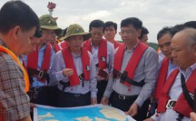 Vì sao Bộ trưởng Bộ GTVT đến hiện trường vụ chìm tàu container ở Cần Giờ?