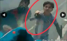 Công an Bình Dương phạt kẻ vung kiếm chém nát kính xe tải trên Quốc lộ 13