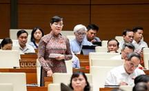 Đại biểu QH Nguyễn Thị Quyết Tâm rơi nước mắt trên nghị trường khi nói về công nhân