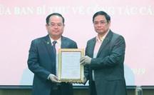 Bổ nhiệm Cục trưởng Cục Bảo vệ chính trị nội bộ làm Phó Ban Tổ chức Trung ương